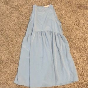 Nasty Gal Dresses - Blue babydoll dress